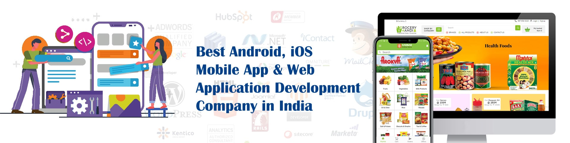 Best Android, iOS Mobile App & Web Application Development Company in India